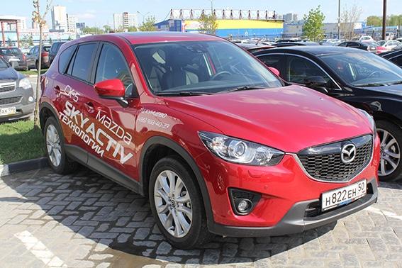 Брендирование Mazda