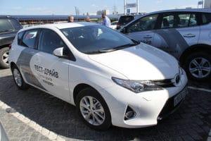 Брендирование Toyota